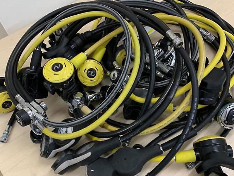 ダイビングスクールプライムのレンタル器材