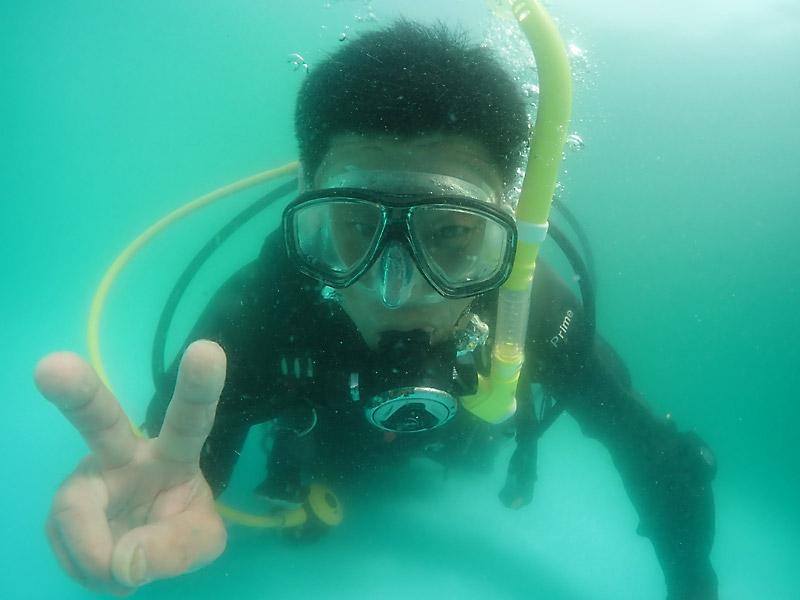 和歌山県でダイビング ライセンス取得