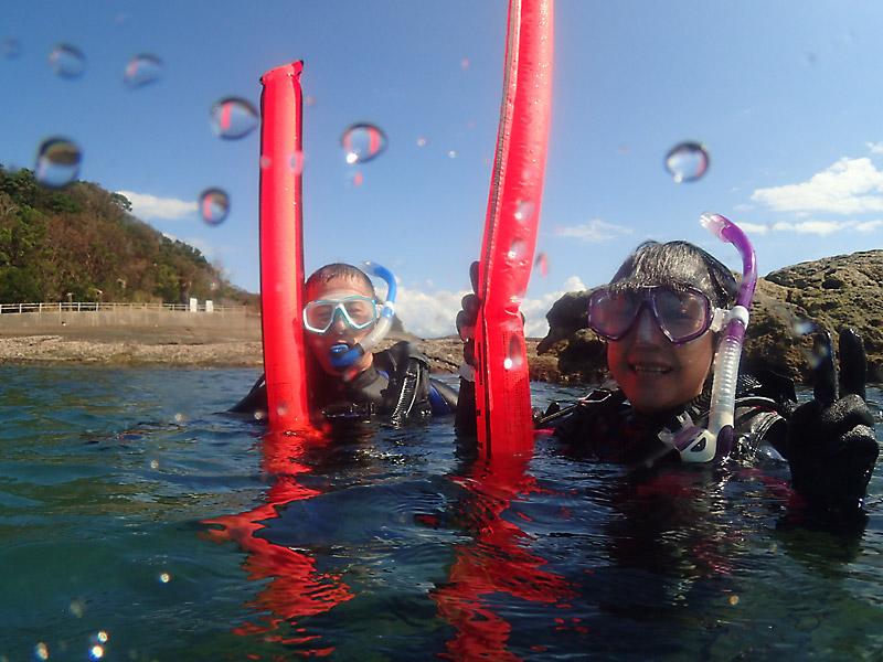 和歌山県でダイビング講習受講!