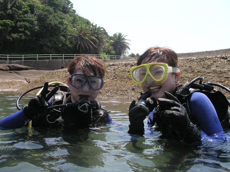 和歌山県田辺・南紀白浜で体験ダイビング